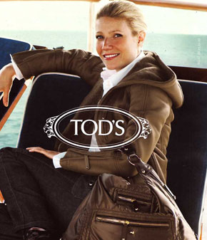 ADV Tod's Dennis Hoper Gwinet Paltrow